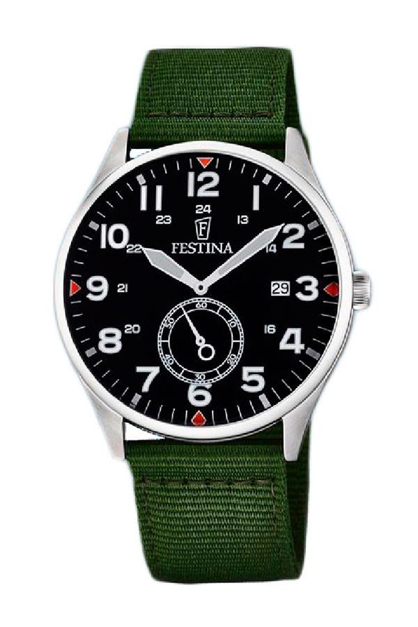 a2ff3a63ced5 Festina F6859 1 Watch Retro ...