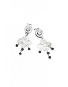 Lotus Silver Earrings LP1076/4/1