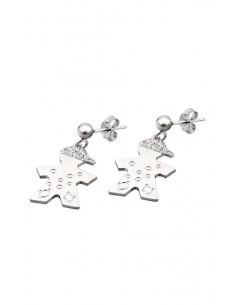 Lotus Silver Earrings LP1112/4/1