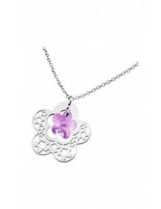 Lotus Silver Necklace LP1123/1/1