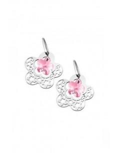 Lotus Silver Earrings LP1123/4/1