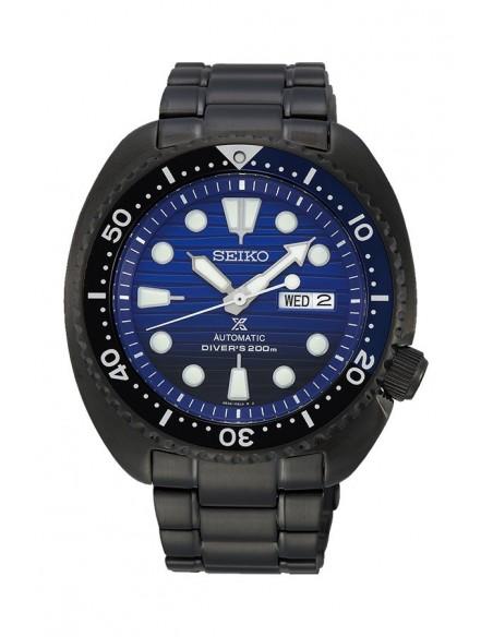 Herrenuhr SRPD11K1 Seiko Automatisch Prospex Diver´s 200 m Turtle Save The Ocean Black Series