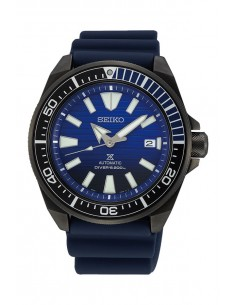 "Seiko SRPD09K1 Automatic Prospex Diver Samurai ""Save The Ocean"" Watch Black Series"