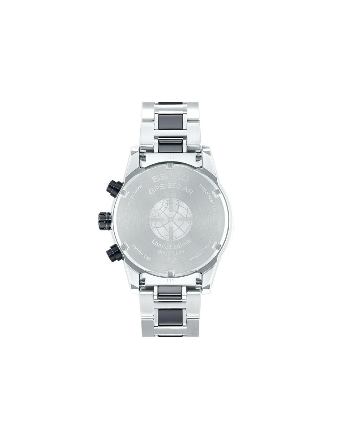 3c2ddc2826a6 ... Reloj SSH007J1 Seiko Astron GPS Solar Titanium Limited Edition