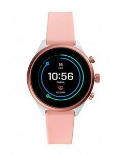 Fossil FTW6022 Smartwatch | Venture HR Blush Silicone Generation IV
