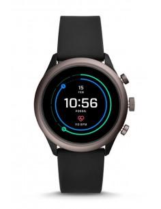 Montre FTW4019 Fossil Smartwatch   Venture HR Black Silicone Generation IV
