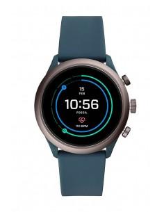 Fossil FTW4021 Smartwatch | Venture HR Smokey Blue Silicone Generation IV
