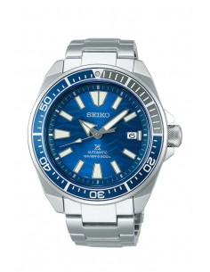 "Seiko SRPD23K1 Automatic Prospex Diver Samurai ""Save The Ocean"" Watch"