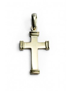 Colgante Cruz Oro 18 K CR1205