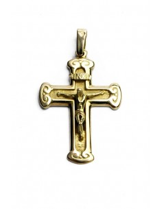 18 K Gold Cross CR2012