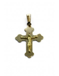 18 K Gold Cross CR1015