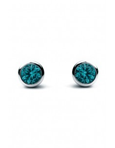 "Earrings Silver ""Aqua"" P201-6"