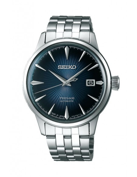 "Seiko SRPB41J1 Automatic Presage Cocktail ""Blue Moon"" Watch"