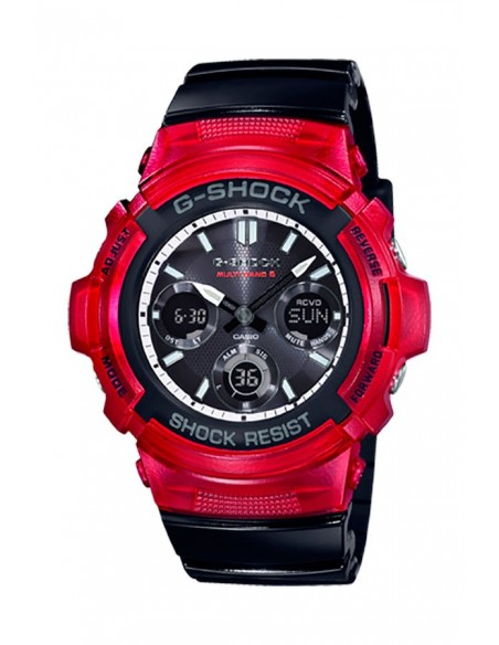 Casio AWG-M100SRB-4AER G-Shock G-SHOCK BLACK AND RED Watch