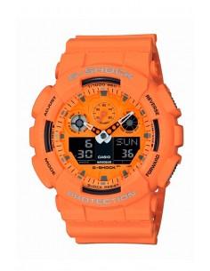 Casio GA-100RS-4AER G-Shock HOT ROCK SOUNDS Watch