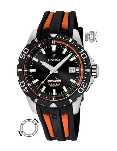 Festina F20462/3 The Originals Diver Watch
