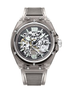 Montre Police Translucent Skeleton PL15924JPB-48P