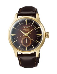 """Seiko SSA392J1 Automatic Presage Cocktail """"Old Fashioned"""" Watch"""