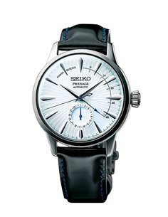 """Seiko SSA343J1 Automatic Presage Cocktail """"Skydiving"""" Watch"""