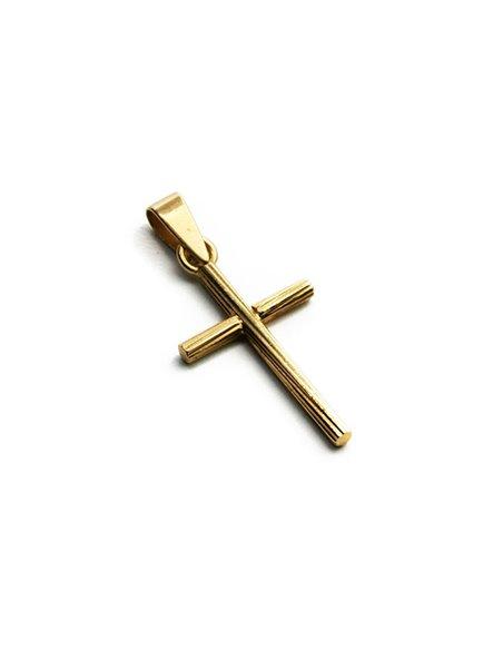 18 K Gold Cross CR1237