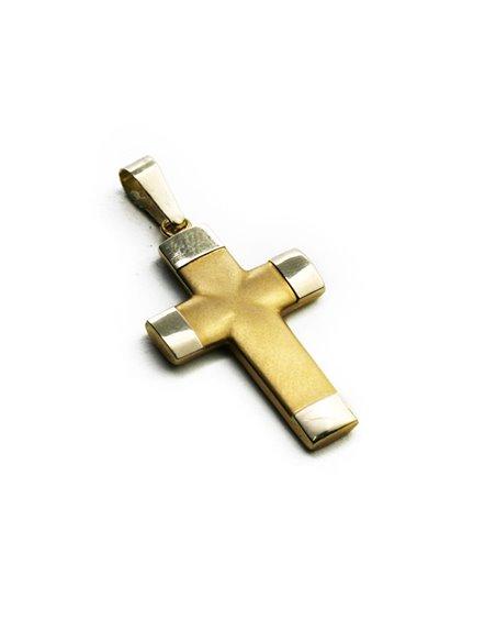 18 K Gold Cross CR1207