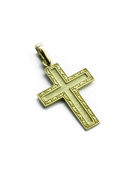18 K Gold Cross CR1220