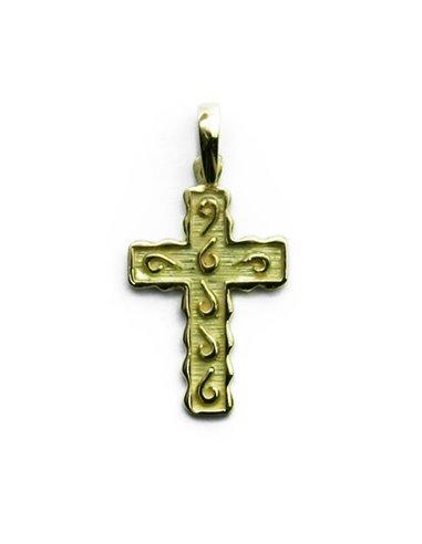 18 K Gold Cross CR4320