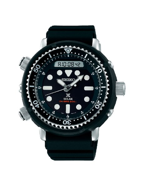 Seiko SNJ025P1 Solar Prospex Padi Diver´s 200 m Hybrid Arnold Watch