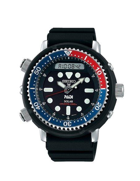 Seiko SNJ027P1 Solar Prospex Padi Diver´s 200 m Hybrid Arnold Watch