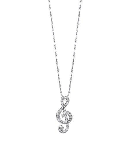 Lotus Silver Necklace LP1966/1/1