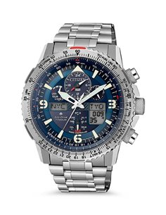 Citizen JY8100-80L Eco-Drive Radio Controlled Watch SUPER PILOT