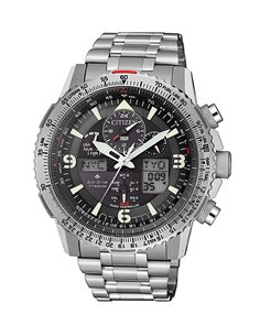 Citizen JY8100-80E Eco-Drive Radio Controlled Watch SUPER PILOT