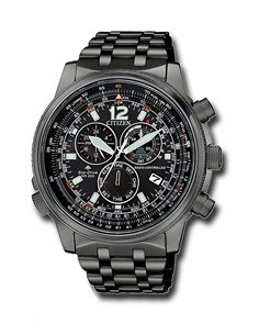 Citizen CB5867-87H Eco-Drive Radio Controlled PILOT E660 Watch