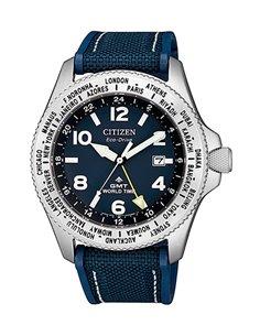 Citizen BJ7100-15L Eco-Drive Promaster GMT 200M Watch