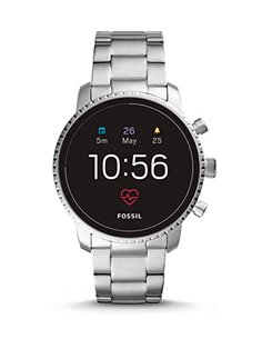 Reloj FTW4011 Fossil Smartwatch - Q Explorist HR Stainless Steel