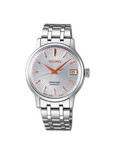 "Seiko SRP855J1EST Automatic Presage Cocktail ""Spritzer"" Watch"