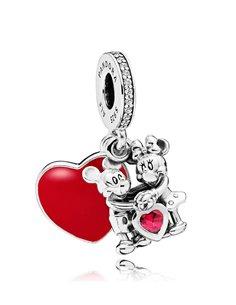Pandora Charm 797769CZR Love Minnie & Mikey