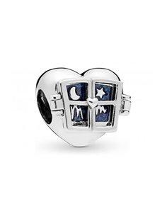 Charm Pandora 798006EN63 Coeur avec fenêtre