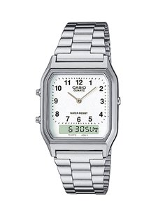 Casio AQ-230A-7BMQYES Collection Vintage EDGY Watch