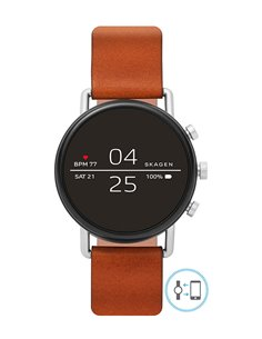 Montre SKT5104 Skagen Falster 2 Brown Leather