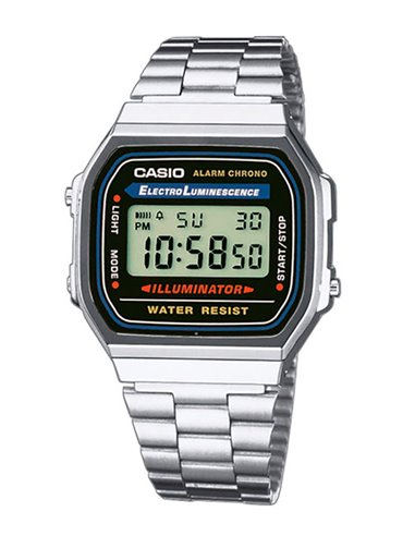 Casio A168WA-1YES Watch Collection