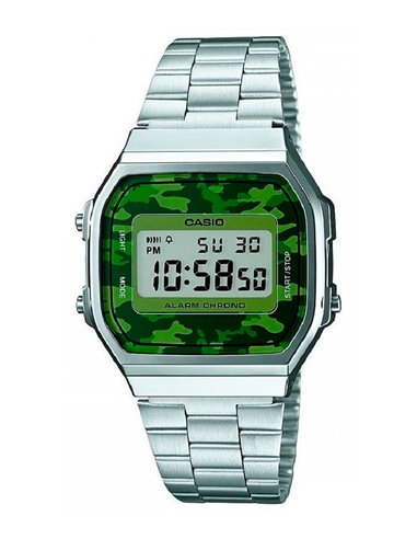 Casio A168WEC-3EF Watch Collection CAMOUFLAGE