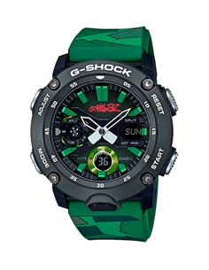 Montre GA-2000GZ-3AER Casio G-Shock & G-Carbon GORILLAZ