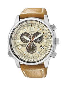 Citizen AS4020-44B Watch Eco-Drive Radio Controlled PILOT