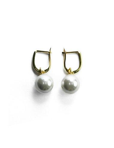18 K Gold Earrings 136938