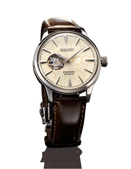 "Seiko SSA409J1 Automatic Presage Cocktail ""The Star Bar"" Watch"