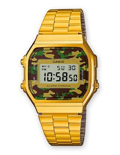 Casio A168WEGC-3EF Watch Collection MILITARY