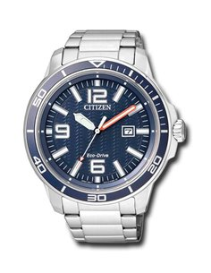 Citizen AW1520-51L Eco-Drive Watch OF COLLECTION MARINE