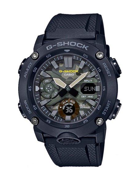 Casio GA-2000SU-1AER G-Shock & G-Carbon UTILITY COLORS MILITARY Watch