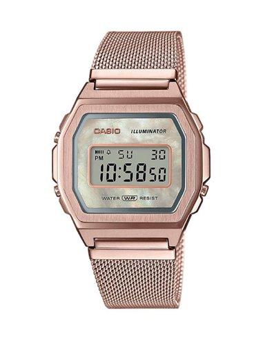 Casio A1000MCG-9EF Collection VintageICONIC Premium Watch
